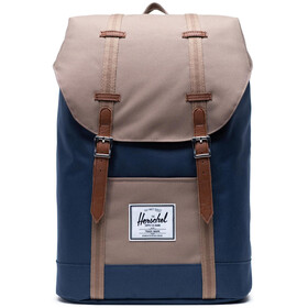 Herschel Retreat Backpack 19,5l, navy/pine bark/tan